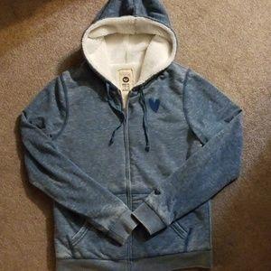 Plush Blue hoodie, Sz. XL